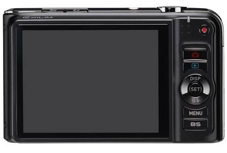 Casio EXILIM EX-H15 10x zoom camera back