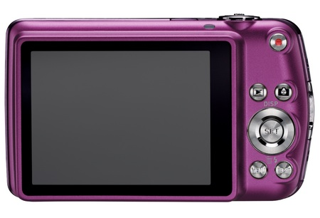 Casio EXILIM EX-S7 Slim Stylish Digital Camera back