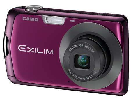 Casio EXILIM EX-S7 Slim Stylish Digital Camera purple