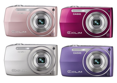 Casio EXILIM EX-Z2000 Digital camera colors