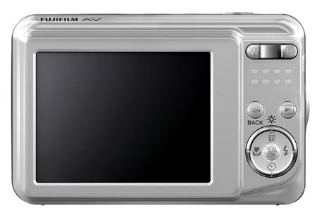 FujiFilm FinePix AV150 and AV100 Entry-level Digicams back