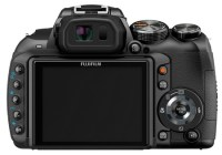 FujiFilm FinePix HS10 30x Ultra Zoom Camera back