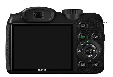 FujiFilm FinePix S1800 18x Zoom Camera back