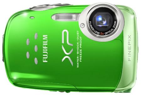 FujiFilm FinePix XP10 'Four-Proof' Digital Camera Green