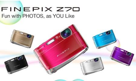 FujiFilm FinePix Z70 digital camera