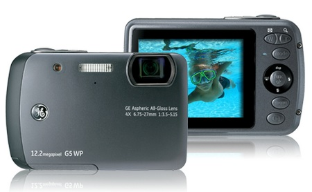 General Imaging G5WP Waterproof Camera Graphite Grey