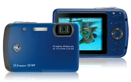 General Imaging G5WP Waterproof Camera Ocean Blue