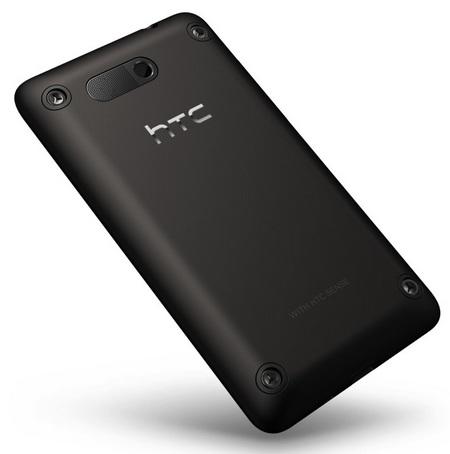 HTC HD mini Windows Phone back
