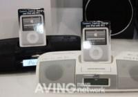 JVC RA-P1 ipod dock clock radio