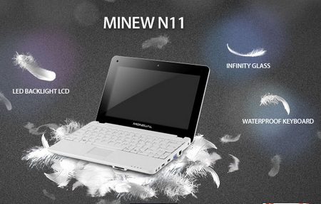 Moneual MiNEW N11 Netbook