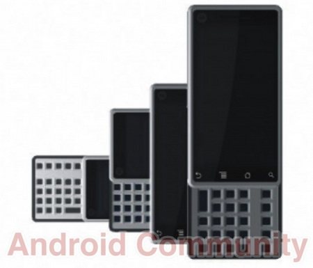 Motorola MOTOSPLIT Android Phone to get dynamic keyboard