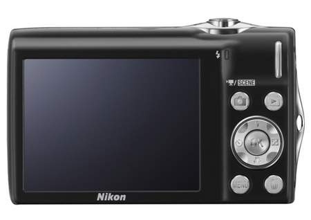 Nikon CoolPix S3000 digital camera back