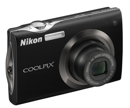Nikon CoolPix S4000 Touchscreen Digital Camera black