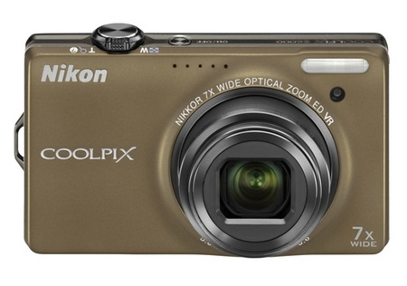 Nikon CoolPix S6000 Digital Camera bronze