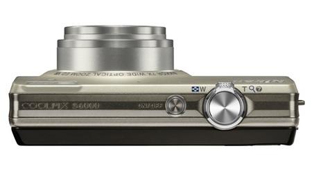 Nikon CoolPix S6000 Digital Camera top