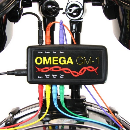 Omega Music GM-1 System offers real drums and cymbals 1