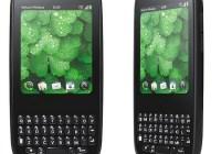 Palm Pixi Plus webOS phone front back