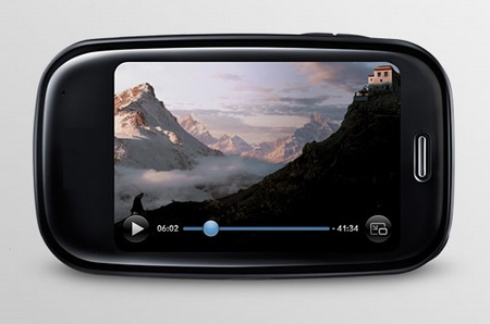 Palm Pre Plus webOS phone horizontal