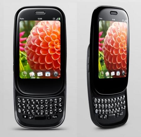 Palm Pre Plus webOS phone keyboard