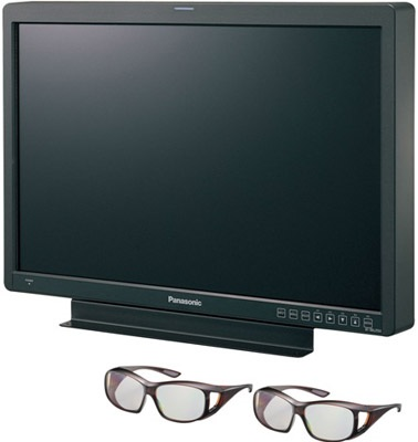 Panasonic BT-3DL2550 Full HD 3D LCD Production Monitor