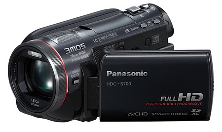 Panasonic HDC-HS700 Full HD 3MOS Camcorder