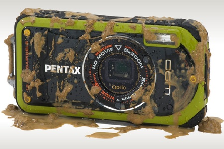Pentax Optio W90 Waterproof Camera green