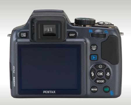Pentax X90 26x Ultra Zoom Camera back