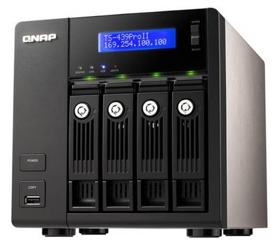 QNAP TS-239 Pro II and TS-439 Pro II Mid-range Turbo NAS Servers