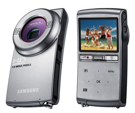 Samsung HMX-U20 and HMX-U15 Pocket Full HD Camcorders