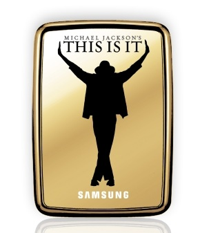 Samsung S2 Portable Michael Jackson's THIS IS IT Special Edition