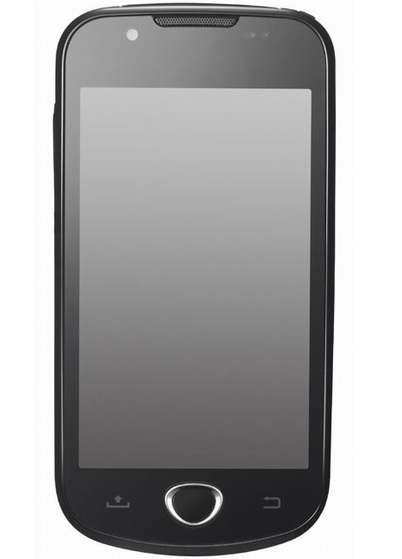 Samsung SHW-M100S Android 2.1 Phone for Korea press shot