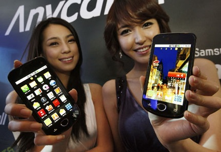 Samsung SHW-M100S Android 2.1 Phone for Korea