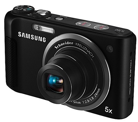 Samsung TL350 High-Speed Camera with Full HD Video front