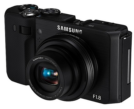 Samsung TL500 Camera with 24mm F1.8 lens angle