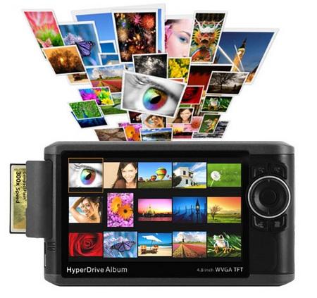 Sanho HyperDrive Album Portable Photo Storage