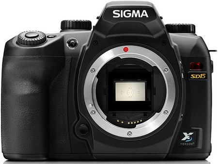 Sigma SD15 Digital SLR Camera no lens
