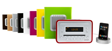 Sonoro Cubo Audio System with eDock for iPod