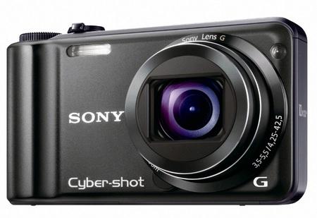 Sony Cyber-shot DSC-H55 10x Zoom Camera angle