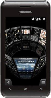 Toshiba TG02 SnapDragon Phone