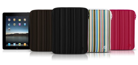 be.ez LA robe iPad Allure Sleeve protects iPad with Style