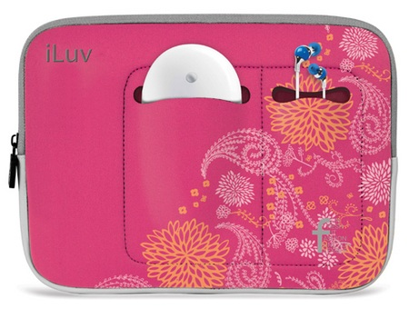 iLuv iBG2000 water resistant neoprene sleeve for iPad
