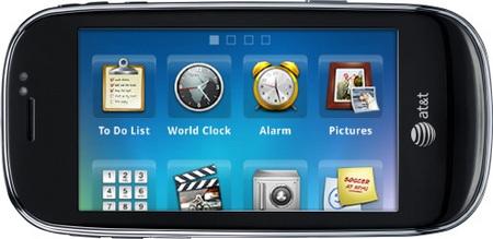 AT&T Dell Aero Android Phone horizontal