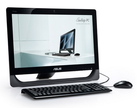 Asus EeeTop PC ET2010 Series All-in-one PCs