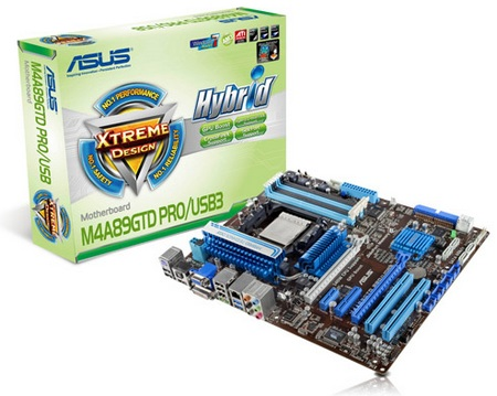Asus M4A89GTD PRO Series Motherboard for AMD AM3 Processors
