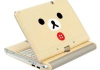Bandai Namco Rilakkuma Netbook lid