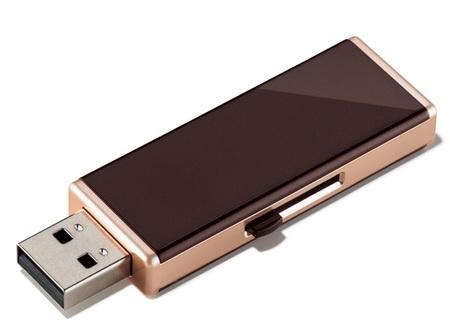 Buffalo RUF2-JWS Elegant USB Flash Drive for Women