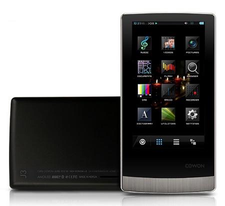 Cowon J3 AMOLED Portable Media Player