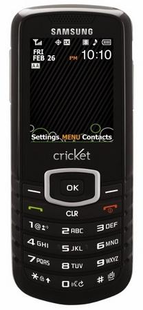 Cricket Samsung Stunt SCH-R100 Bar Phone