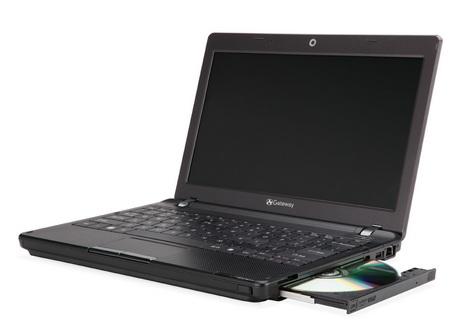 Gateway EC14D01h CULV Notebook with built-in DVD Burner