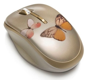 HP Butterfly Lovers themed Wireless Mouse